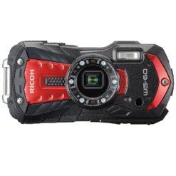 RICOH 防水カメラ WG-60 レッド 真正面