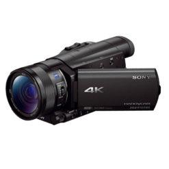 SONY 4Kビデオカメラ FDR-AX100