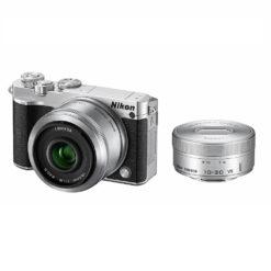 Nikon Nikon1 J5 ダブルレンズキット シルバー ミラーレス一眼
