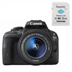 Canon EOS KISS X7レンズキット wifi機能付きSDあり